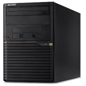 Altos Altos T110_F5 - Intel Xeon E2224, 8GB ECC DDR4, 2*1TB HDD, DVDRW, No OS