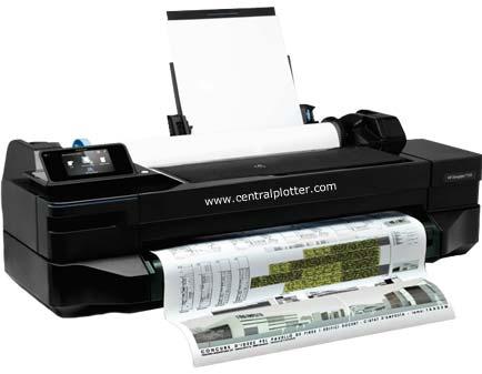 Rental Plotter HP Designjet T120