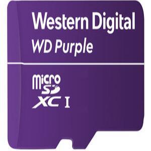 WD MICROSD PURPLE 64GB