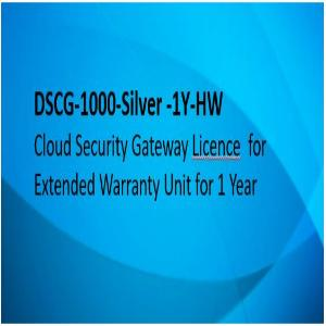 D-link Cyber Security Gateway, 1 Year Extended Warranty On 1000-Silver Hardware
