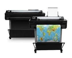 Rental Plotter HP Designjet T520