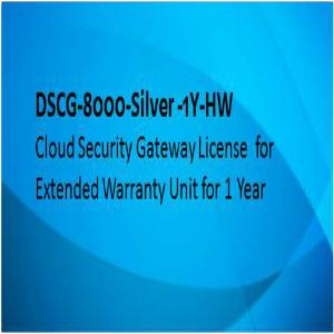 D-link License, 1 Year Extended Warranty On 8000-Silver Hardware