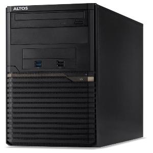 Altos Altos T110_F5 - Intel Xeon E2124, 8GB ECC DDR4, 1TB HDD, DVDRW, No OS