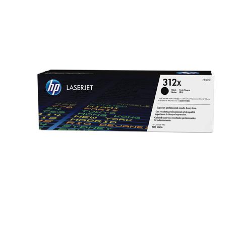 HP 312X High Yield Black Toner Cartridge
