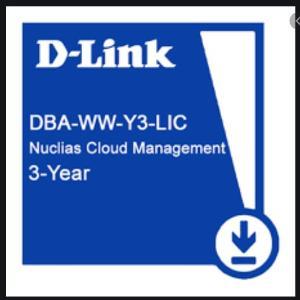 D-link Cloud AP License, Nuclias 3-year (1095-day) License For Cloud AP