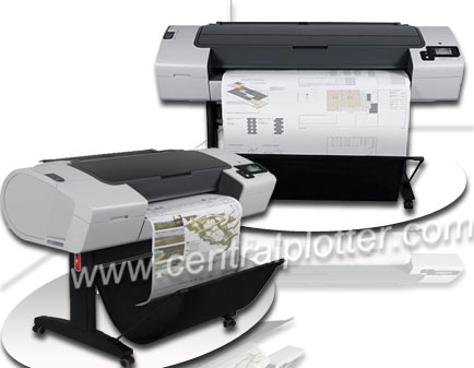 Rental Plotter HP Designjet