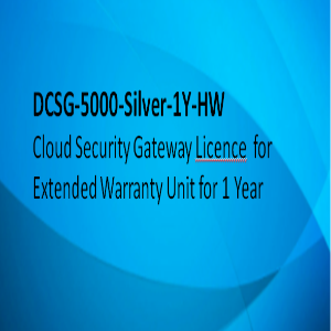 D-link License 1 Year Extended Warranty On 5000-Silver Hardware