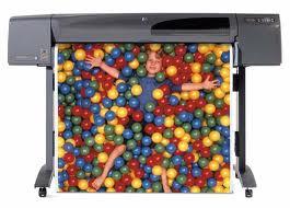 Rental Plotter HP Designjet 800
