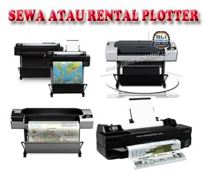 Sewa/Rental Plotter